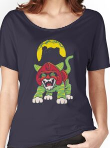 Battle Kitty's Mighty RAWR!  Women's Relaxed Fit T-Shirt