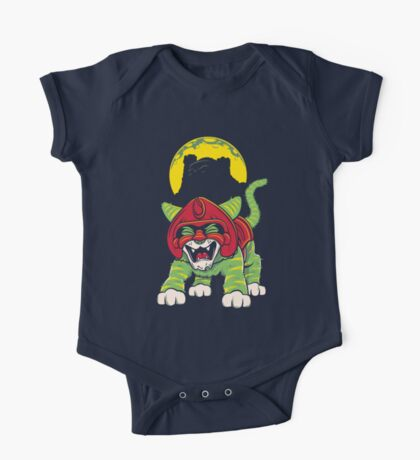 Battle Kitty's Mighty RAWR!  One Piece - Short Sleeve