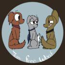 Team Free Woof by Braang