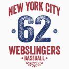 New York City Webslingers Baseball by mysundown