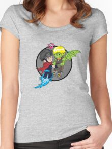 Wiccan and Hulkling Women's Fitted Scoop T-Shirt
