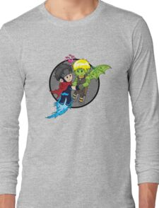 Wiccan and Hulkling Long Sleeve T-Shirt