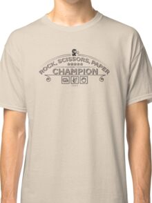 Rock scissors paper Champion - Kidd Classic T-Shirt
