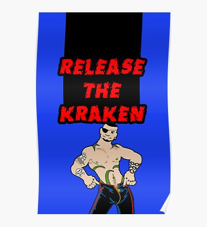 Release the Kraken Poster