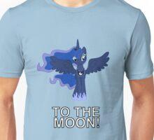 Luna Nightmare Moon - TO THE MOON! Unisex T-Shirt