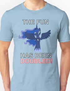 Luna Nightmare Moon - The Fun Has Been Doubled T-Shirt