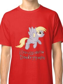 Derpy Hooves Loves You 3.0 Classic T-Shirt