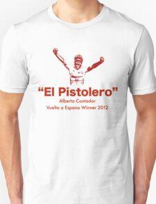 Alberto Contador Vuelta Winner 2012 (II) T-Shirt