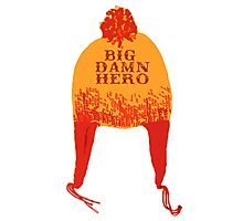 Big Damn Hero Photographic Print