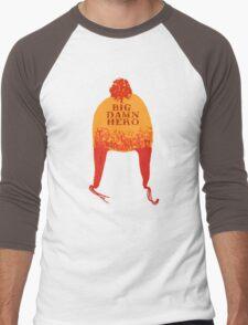 Big Damn Hero Men's Baseball ¾ T-Shirt