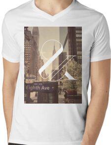 New York Is Killing Me Mens V-Neck T-Shirt