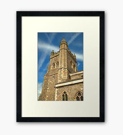 Spire of St Mary's Church, Old Amersham Framed Print