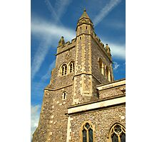 Spire of St Mary's Church, Old Amersham Photographic Print