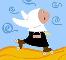 Rollernun by Sonia Pascual