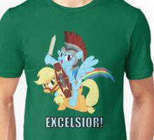 Rainbow Dash - Excelsior Knight Unisex T-Shirt