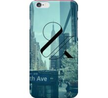New York Is Killing Me - Blue iPhone Case/Skin