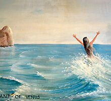 The Birth/Isle of Venus (Aphrodite) by Jane Neill-Hancock