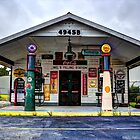 Mel's Filling Station by aikidawg