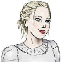 doodle jennifer lawrence by fandomslove