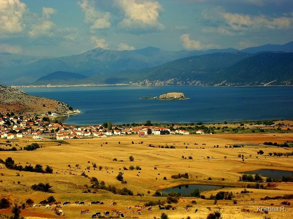 Lake Prespa, Albania by Kristina R.