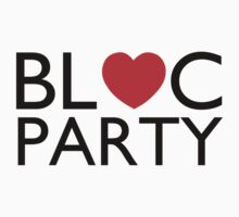 Bloc Party Heart T-Shirt