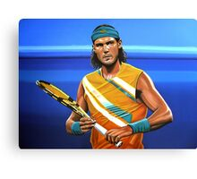 Rafael Nadal painting Canvas Print