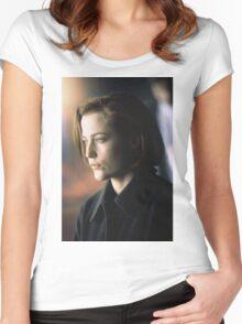 DANA SCULLY ALIEN AMAZING Women's Fitted Scoop T-Shirt