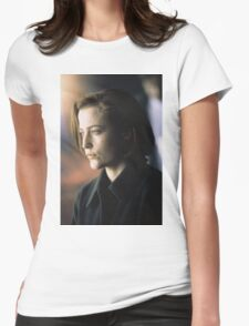 DANA SCULLY ALIEN AMAZING Womens Fitted T-Shirt