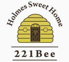 221Bee: Holmes Sweet Home Kids Tee