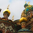 Cupolas * Church of the Saviour on the Blood * 1883-1907 by M-EK
