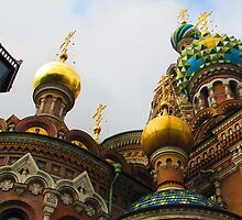 Cupolas * Church of the Saviour on the Blood * 1883-1907 by Mary-Elizabeth Kadlub