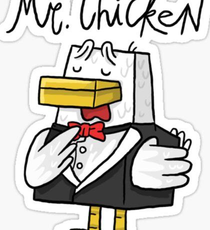 Mr. Chicken - Basic Sticker