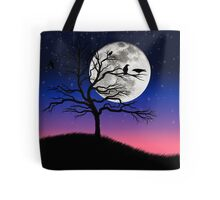Raven tree Tote Bag