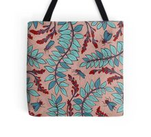 Sandelholz flower pattern Tote Bag