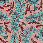Sandelholz flower pattern by Neta Manor