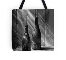 Old Wine Bottles Tote Bag