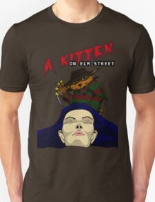 A Kitten on Elm Street T-Shirt