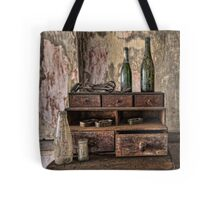 Two Green Bottles Tote Bag