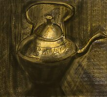 Brass Teapot by Visuddhi