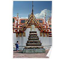 Doi Suthep Stupa And Shrine Poster