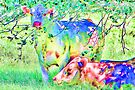 Cow Painting by AuntDot
