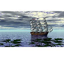 An Alternate Sarasota Sea Sail Photographic Print