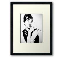 Hepburn Framed Print