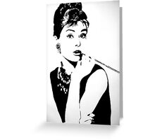 Hepburn Greeting Card