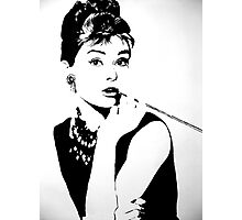Hepburn Photographic Print