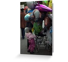 Overflow Greeting Card