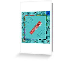 Monopoly Board Greeting Card