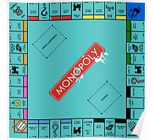 Monopoly Board Poster