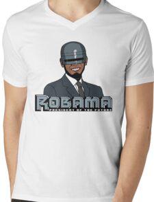 Robama - President of the Future Mens V-Neck T-Shirt