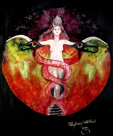 THE ASCENSION OF LILITH by Tilly Campbell-Allen